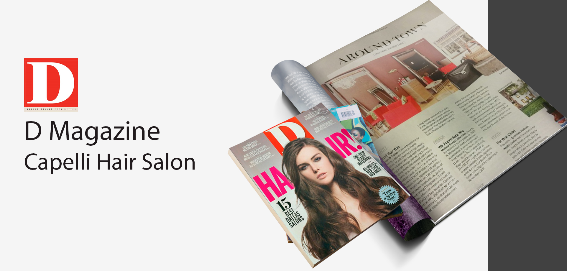 Capelli Hair Salon in D Magazine
